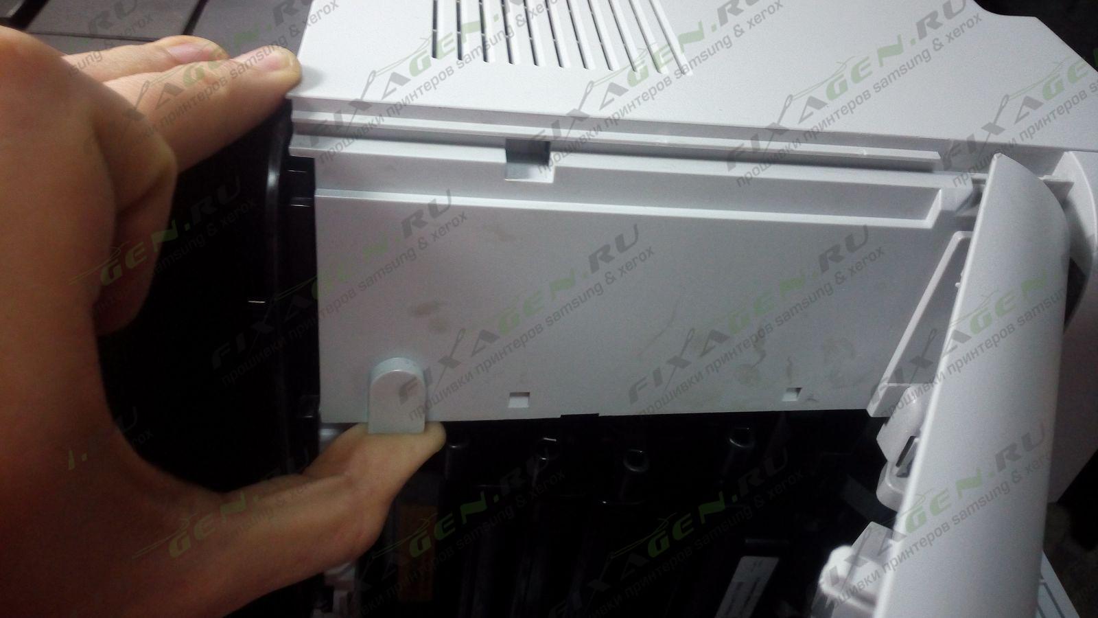samsung clx 3305 инструкция как обнулить чип